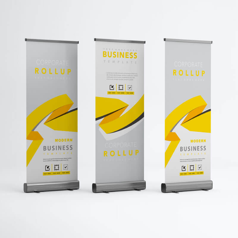 ROLL UP Y BANNERS